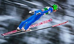 16.12.2017, Gross Titlis Schanze, Engelberg, SUI, FIS Weltcup Ski Sprung, Engelberg, im Bild Jernej Damjan (SLO) // Jernej Damjan of Slovenia during Mens FIS Skijumping World Cup at the Gross Titlis Schanze in Engelberg, Switzerland on 2017/12/16. EXPA Pictures © 2017, PhotoCredit: EXPA/JFK