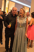 LORD MYNERS, LADY MYNERS, The Neo Romantic Art Gala in aid of the NSPCC. Masterpiece. Chelsea. London.  30 June 2015