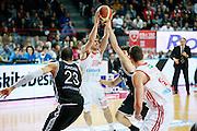 DESCRIZIONE : Varese Lega A 2013-14 Cimberio Varese Granarolo Virtus Bologna<br /> GIOCATORE : Andrea De Nicolao<br /> CATEGORIA : Passaggio<br /> SQUADRA : Cimberio Varese<br /> EVENTO : Campionato Lega A 2013-2014<br /> GARA : Cimberio Varese Granarolo Virtus Bologna<br /> DATA : 26/12/2013<br /> SPORT : Pallacanestro <br /> AUTORE : Agenzia Ciamillo-Castoria/G.Cottini<br /> Galleria : Lega Basket A 2013-2014  <br /> Fotonotizia : Varese Lega A 2013-14 Cimberio Varese Granarolo Virtus Bologna<br /> Predefinita :