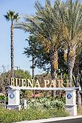 Buena Park City Monument