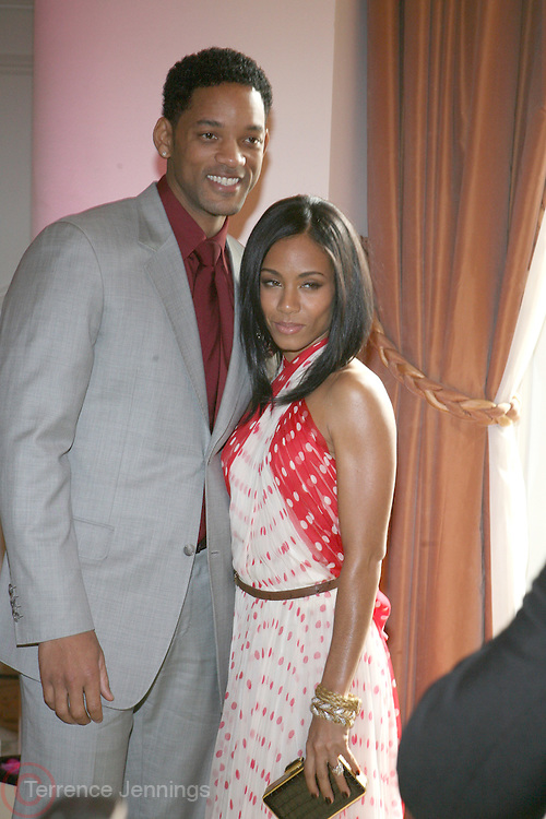 Will Smith and Jada Pickett Smith at The Essence Magazine Celebrates Black Women in Hollywood Luncheon Honoring Ruby Dee, Jada Pickett Smith, Susan De Passe & Jurnee Smollett at the Beverly Hills Hotel on February 21, 2008 in Beverly Hills, CA