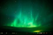 Northern lights (Aurora borealis) display<br />Selkirk<br />Manitoba<br />Canada