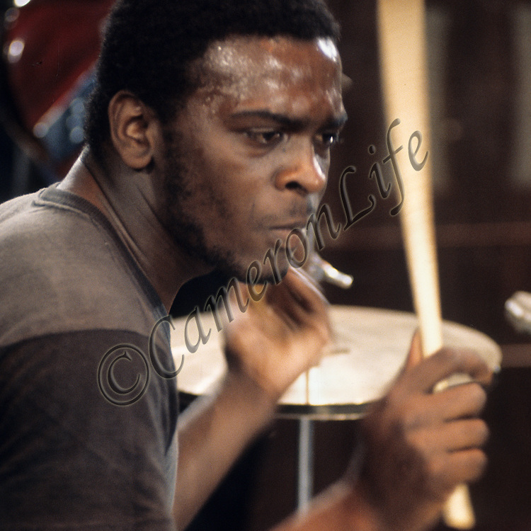 """Romeo Challenger - Black Widow drummer .-.Formed in 1969, Black Widow were primarily renowned for their use of satanic and occult imagery, opening their spot with a banned track """"Come to the Sabbat"""" at six o'clock on the Thursday evening. Despite taming their act down in anticipation of success, their future plans with CBS were put on hold whilst the record company concentrated on promoting Simon and Garfunkle's new track, """"Bridge over Troubled Water"""". Later, a trip to the States resulted in their road crew absconding to join the Black Sabbath troop.  .Romeo Challenger  later achieved fame with pop band Showaddywaddy."""