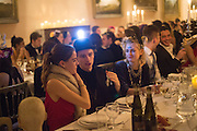 JESS ADAM; GUY PEARSON, Ball at to celebrateBlanche Howard's 21st and  George Howard's 30th  birthday. Dress code: Black Tie with a touch of Surrealism. Castle Howard. Yorkshire. 14 November 2015