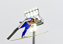 30.12.2011, Schattenbergschanze / Erdinger Arena, GER, Vierschanzentournee, FIS Weldcup, Probedurchgang, Ski Springen, im Bild Daiki Ito (JPN) // Daiki Ito of Japan during the trial round at 60th Four-Hills-Tournament, FIS World Cup in Oberstdorf, Germany on 2011/12/30. EXPA Pictures © 2011, PhotoCredit: EXPA/ P.Rinderer