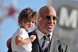 Jasmine Johnson attends the ceremony honoring her father Dwayne Johnson aka The Rock with a star on the Hollywood Walk of Fame on December 13, 2017 in Los Angeles, California. Photo by Lionel Hahn/ABACAPRESS.COM