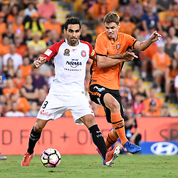 28th January 2017 - A-League RD17: Brisbane Roar v Western Sydney Wanderers
