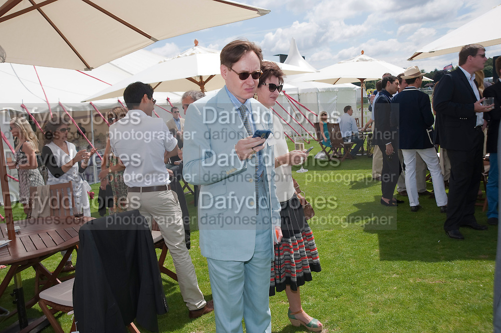 NICK FOULKES, Cartier International Polo. Guards Polo Club. Windsor Great Park. 25 July 2010. -DO NOT ARCHIVE-© Copyright Photograph by Dafydd Jones. 248 Clapham Rd. London SW9 0PZ. Tel 0207 820 0771. www.dafjones.com.