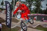 #120 (PELLUARD Vincent) FRA at the 2016 UCI BMX Supercross World Cup in Santiago del Estero, Argentina