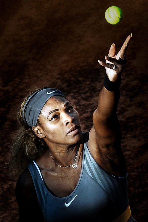 Serena Williams.<br /> Roma 17-05-2014 Foro Italico, Internazionali d'Italia di Tennis. Foto Antonietta Baldassarre / Insidefoto