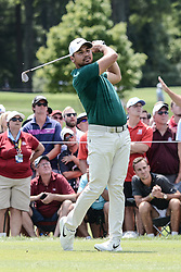 August 10, 2018 - Town And Country, Missouri, U.S - JASON DAY from Australia tees off from hole number three during round two of the 100th PGA Championship on Friday, August 10, 2018, held at Bellerive Country Club in Town and Country, MO (Photo credit Richard Ulreich / ZUMA Press) (Credit Image: © Richard Ulreich via ZUMA Wire)