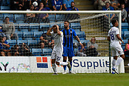 Coventry City midfielder Tony Andreu (22) rues a missed chance during the EFL Sky Bet League 1 match between Gillingham and Coventry City at the MEMS Priestfield Stadium, Gillingham, England on 25 August 2018.