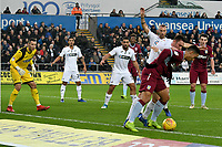 Football - 2018 / 2019 Championship - Swansea City vs Aston Villa<br /> … at the Liberty Stadium.<br /> <br /> Anwar El Ghazi of Aston Villa on the attack <br /> Credit: COLORSPORT/Winston Bynorth