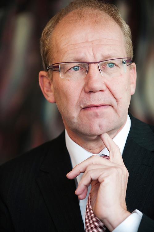 Nederland, Meppel, 26 jan 2012.Staatssecretaris Atsma van Milieu..Foto (c): Michiel Wijnbergh