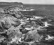 Waves and Rocks, White Point Island