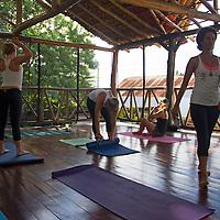 Central America, Nicaragua, San Juan del Sur. Zen Yoga Studio in San Juan del Sur.