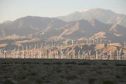 wind energy farm Palm Springs Southern California