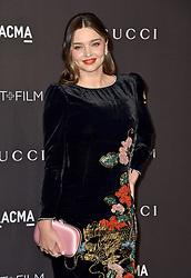 Miranda Kerr attends the 2018 LACMA Art + Film Gala at LACMA on November 3, 2018 in Los Angeles, CA, USA. Photo by Lionel Hahn/ABACAPRESS.COM