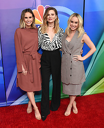 February 20, 2019 - Hollywood, California, U.S. - Keltie Knight, Jac Vanek and Becca Tobin on the carpet at the NBCUniversal Mid Season Press Junket at Universal Studios. (Credit Image: © Lisa O'Connor/ZUMA Wire)