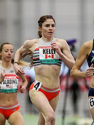 New Balance Indoor Grand Prix<br /> Staten Island, New York, February 13, 2021<br /> womens 1500m, New Balance, Canada