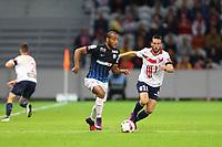 SOCCER : Lille vs Nancy - League 1 - 10/01/2016<br /> <br /> Tobias Badila (Nancy) vs Morgan Amalfitano (Lille)<br /> <br /> Norway only