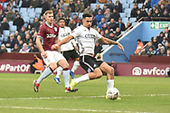 Swansea City striker Courtney Baker-Richardson (46) scores a goal from open play 0-1 during the The FA Cup 3rd round match between Aston Villa and Swansea City at Villa Park, Birmingham, England on 5 January 2019.