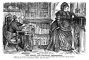 """The Census (Arithmetical Progression.) """"What do you intend to be 'this' time, Maria? Last time, you were thirty-'one,' and thirty the time before!"""" """"Tell the truth, dear - Thirty-two. Heigho! How time flies!"""""""