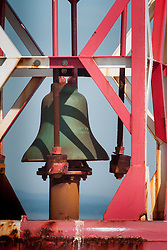 Harbor Bell, Castine, Maine, US