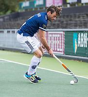 AMSTELVEEN - Sebastien Dockier (Pinoke)     tijdens de      hoofdklasse hockeywedstrijd mannen,  AMSTERDAM-PINOKE (1-3) , die vanwege het heersende coronavirus zonder toeschouwers werd gespeeld. COPYRIGHT KOEN SUYK