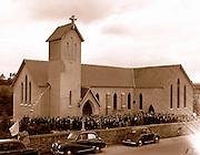 Baraduff church opening in the 1950's.<br /> Picture: macmonagle archive<br /> e: info@macmonagle.com