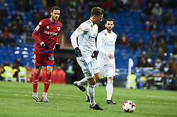 January 10, 2018 - Madrid, Madrid, Spain - Marcos Llorente (midfielder; Real Madrid) during Copa del Rey match between Real Madrid and Numancia, Round 8 match, at Santiago Bernabeu on January 10, 2018 in Madrid (Credit Image: © Jack Abuin via ZUMA Wire)