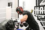 BOXEN:  Boxen im Norden, Training, Hamburg, 01.10.2020<br /> Neuzugang: Axel Elvir Sendro <br /> © Torsten Helmke