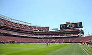 Inside general view of the Levis Stradium during the AON Tour 2017 match between Real Madrid and Manchester United at the Levi's Stadium, Santa Clara, USA on 23 July 2017.