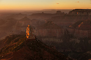 Mount Hayden, sunrise, North Rim, Grand Canyon, AZ