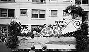 1307C-05Jugo Slavia (Yugoslavia) float in the Rose Festival Parade of Nations, June 11, 1929