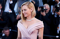 Actress Uma Thurman at the opening ceremony and Ismael's Ghosts (Les Fantômes D'ismaël) gala screening,  at the 70th Cannes Film Festival Wednesday May 17th 2017, Cannes, France. Photo credit: Doreen Kennedy