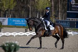 Soratie Mikaela, FIN, Hot Casanova<br /> CDI 3* Opglabeek<br /> © Hippo Foto - Dirk Caremans<br />  23/04/2021