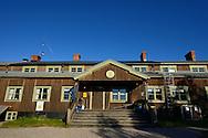 STF Saltoluokta Fjällstation mountain lodge, Greater Laponia rewilding area, Lapland, Norrbotten, Sweden