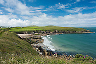 Porthselau Beach, St David's Pembrokeshire, Wales, Uk