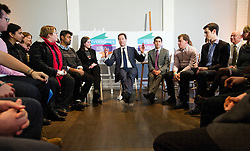 © London News Pictures. 11/12/2012. London, UK . British Deputy Prime Minister Nick Clegg speaking to members from lesbian, gay, bisexual and transgender groups at  the Institute of Contemporary Arts in London on December 11, 2012. The government today (11/12/2012) outlined plans to allow gay marriage. Photo credit: Ben Cawthra/LNP