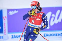 26.10.2019, Keelberloch Rennstrecke, Altenmark, AUT, FIS Weltcup Ski Alpin, Abfahrt, Damen, 1. Training, im Bild Federica Brignone (ITA) // Federica Brignone of Italy reacts after her 1st training run for the women's Downhill of FIS ski alpine world cup at the Keelberloch Rennstrecke in Altenmark, Austria on 2019/10/26. EXPA Pictures © 2020, PhotoCredit: EXPA/ Erich Spiess