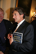 Nigel Havers, Book launch for 'Shark Infested Waters' by Michael Whitehall. Belgrave Sq. London. 12 June 2007.  -DO NOT ARCHIVE-© Copyright Photograph by Dafydd Jones. 248 Clapham Rd. London SW9 0PZ. Tel 0207 820 0771. www.dafjones.com.