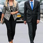 NLD/Bilthoven/20120618 - Uitvaart Will Hoebee, Marga Scheide