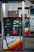 A biodiesel pump at a truck stop at the intersection of I-70 and I-57 in Effingham, Illinois.