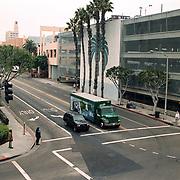 Reis Amerika, Santa Monica Los Angeles parkeergarage kruising