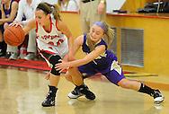Vermilion at Firelands girls high school varsity basketball on February 16, 2011.