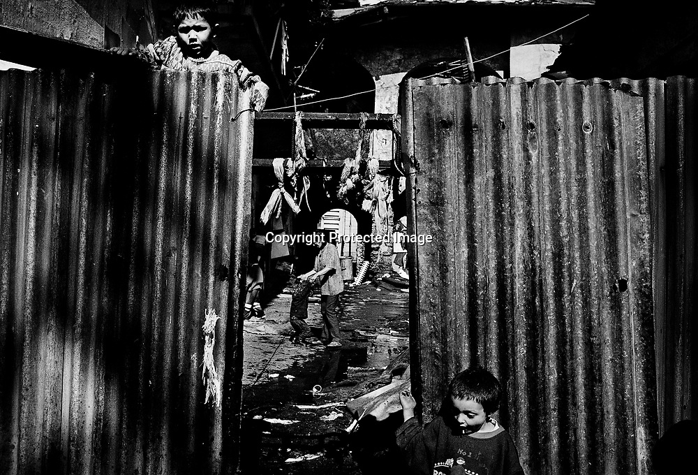 A small ghetto in the center of Kosice.
