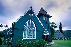 Waioli Huiia Church, Hanalei, Kauai, Hawaii, US