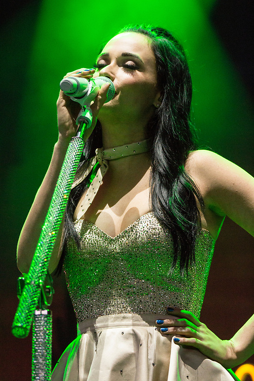 Kacey Musgraves performs at Summerfest in Milwaukee, WI on July 3, 2016.