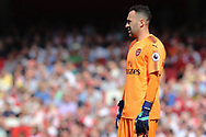 Arsenal goalkeeper David Ospina (13) during the Premier League match between Arsenal and West Ham United at the Emirates Stadium, London, England on 22 April 2018. Picture by Bennett Dean.